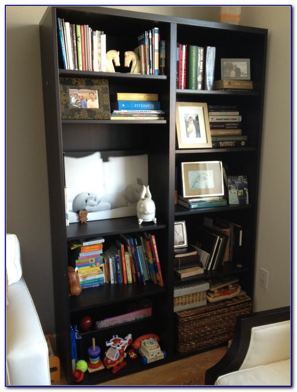 Ikea Expedit Shelving Unit Bookcase Black Brown