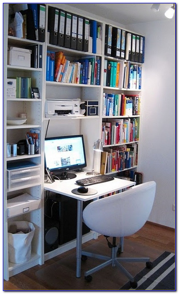 Ikea Hack Desk And Bookcase