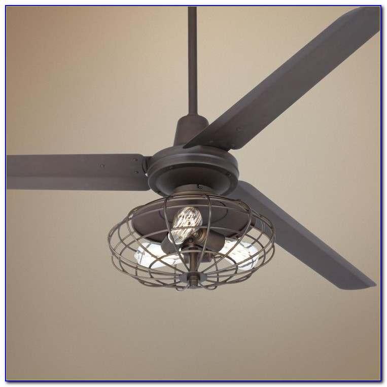 Industrial Look Ceiling Fan Light Kit