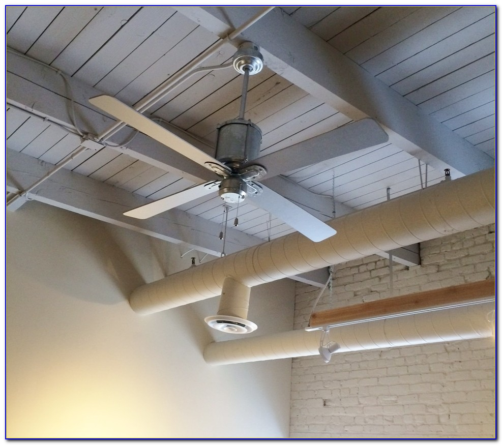 Industrial Looking Outdoor Ceiling Fans