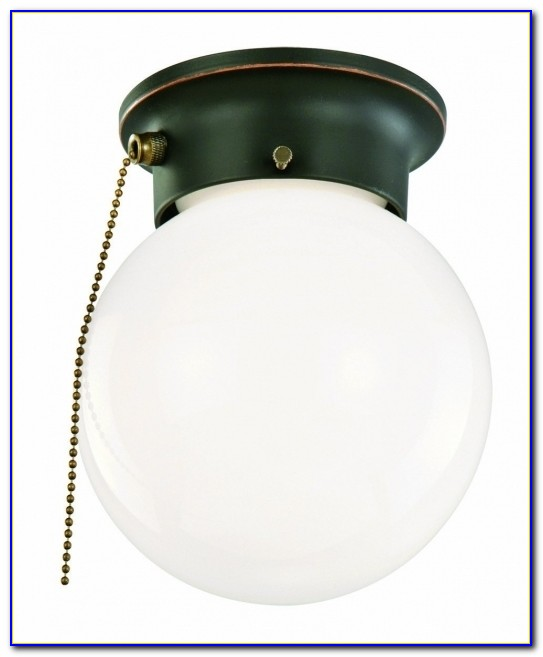 Installing Ceiling Light With Pull Chain