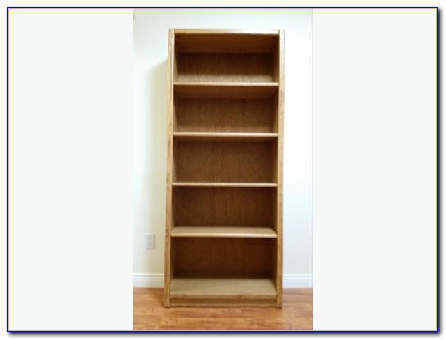 Kensington Oak Veneer Bookcase