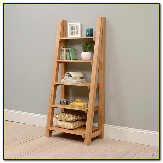 Ladder Bookcase Oak Uk