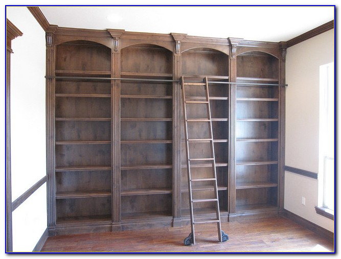 Ladder Shelves Kitchen