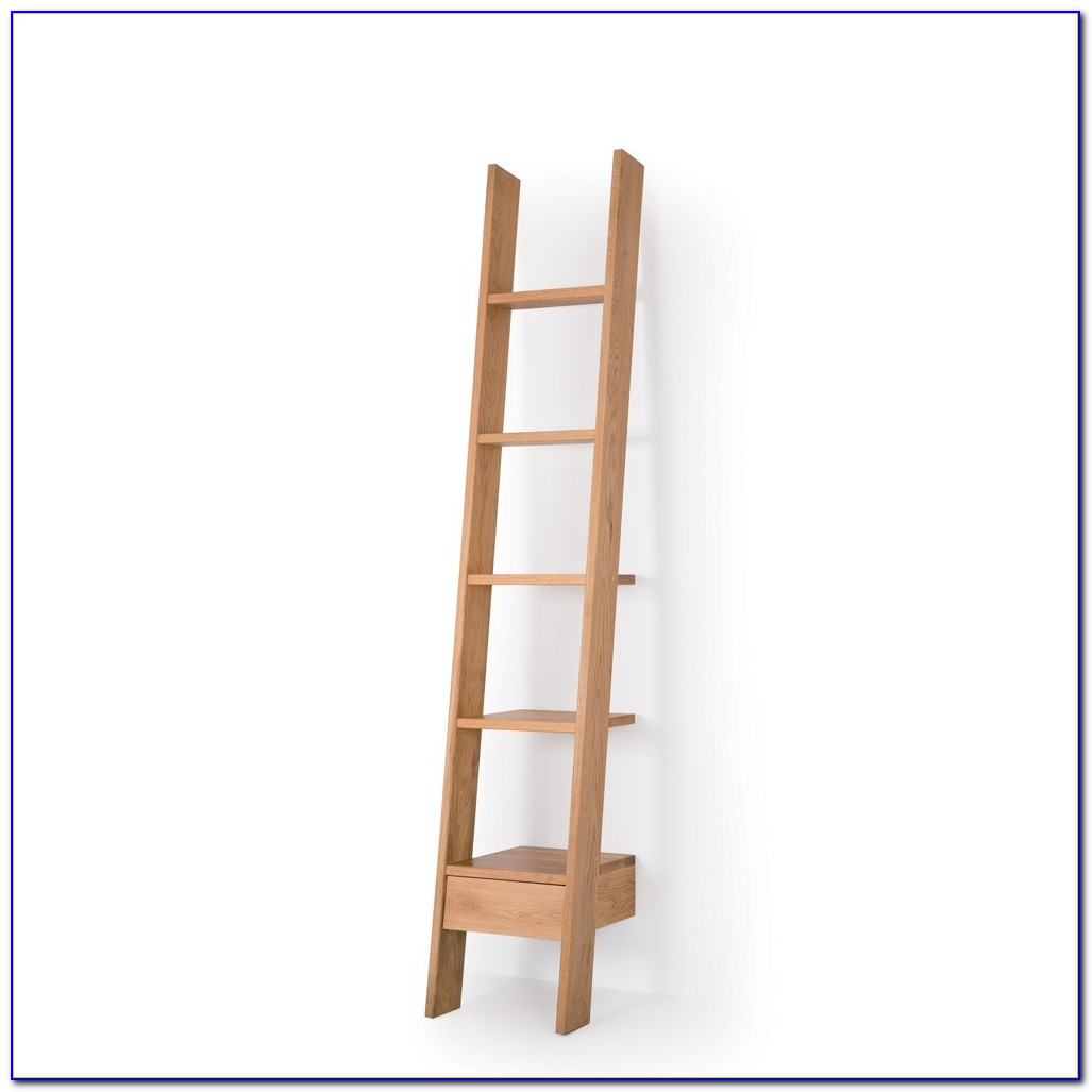 Ladder Shelving Oak