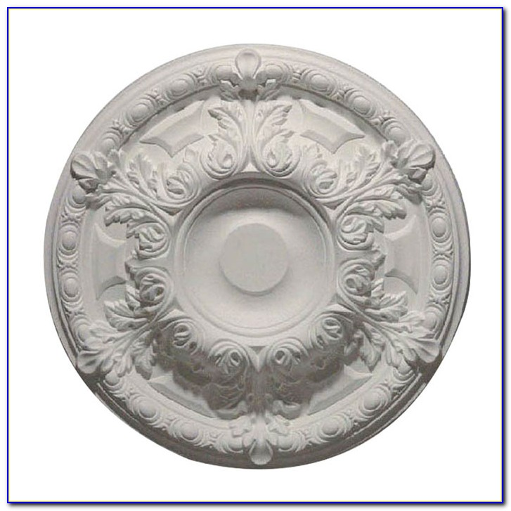 Large 2 Piece Ceiling Medallions
