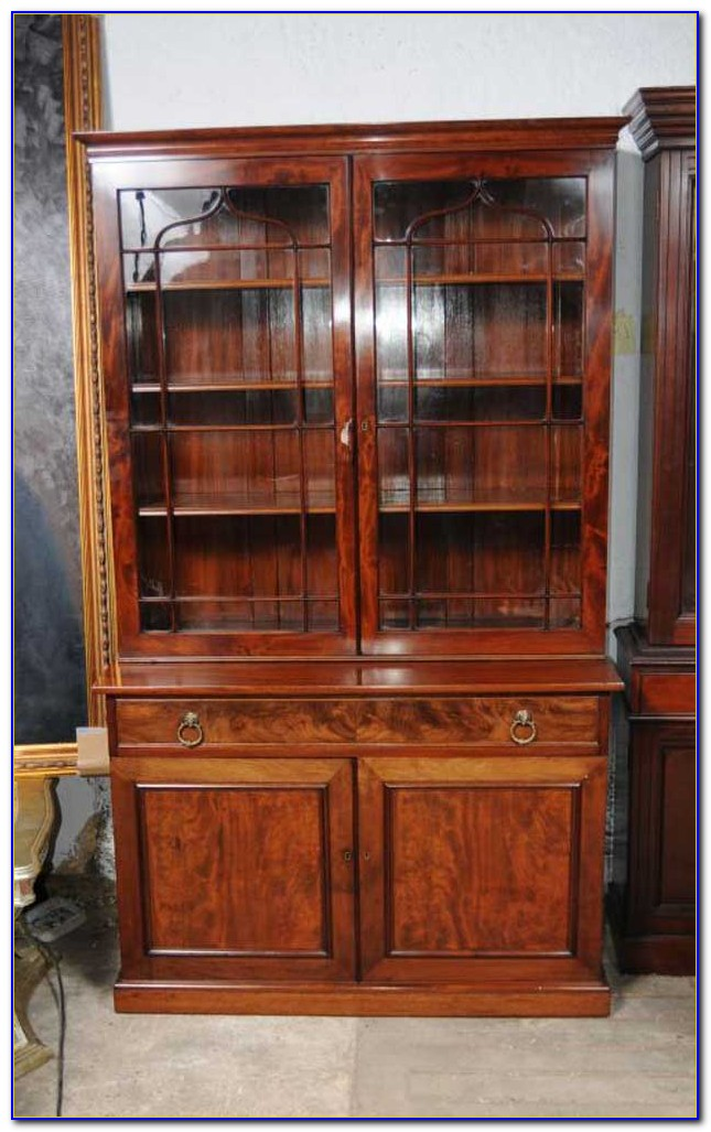 Large Bookcase Display Cabinet