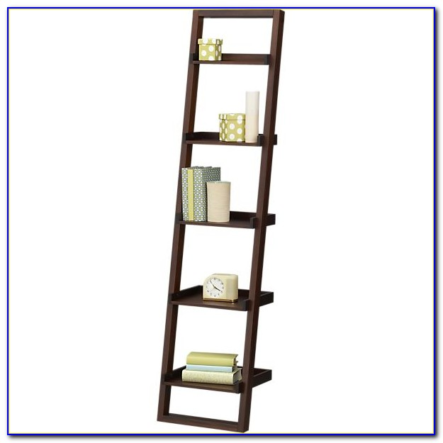 Linea Leaning Bookcase Assembly