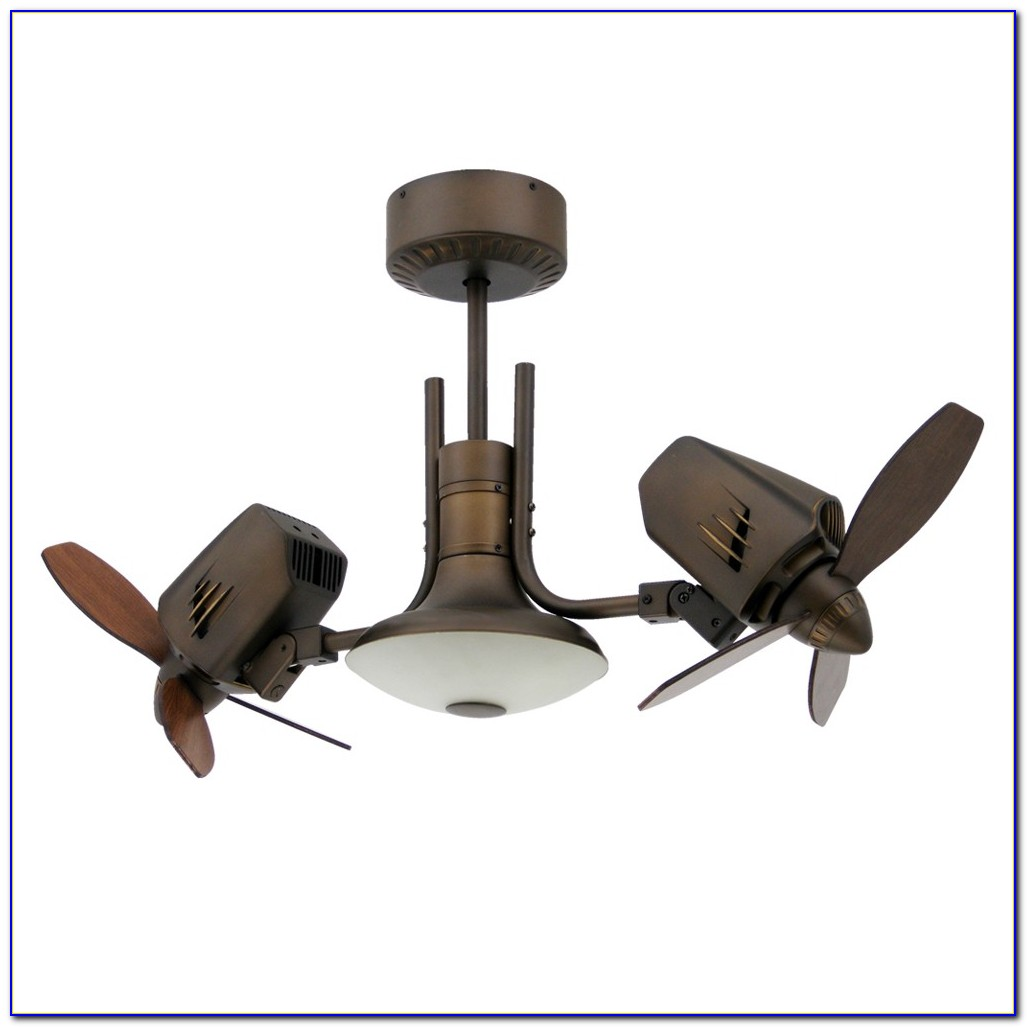 Metropolitan Dual Motor Ceiling Fan In Oil Rubbed Bronze