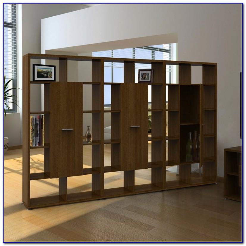 Modern Cube Shelving Room Divider