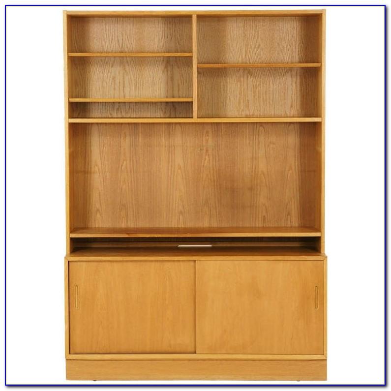 Modern Oak Bookcase