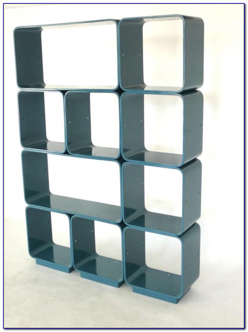 Modular Cube Bookshelves