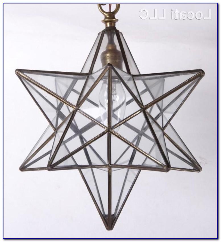 Moravian Star Ceiling Fixture
