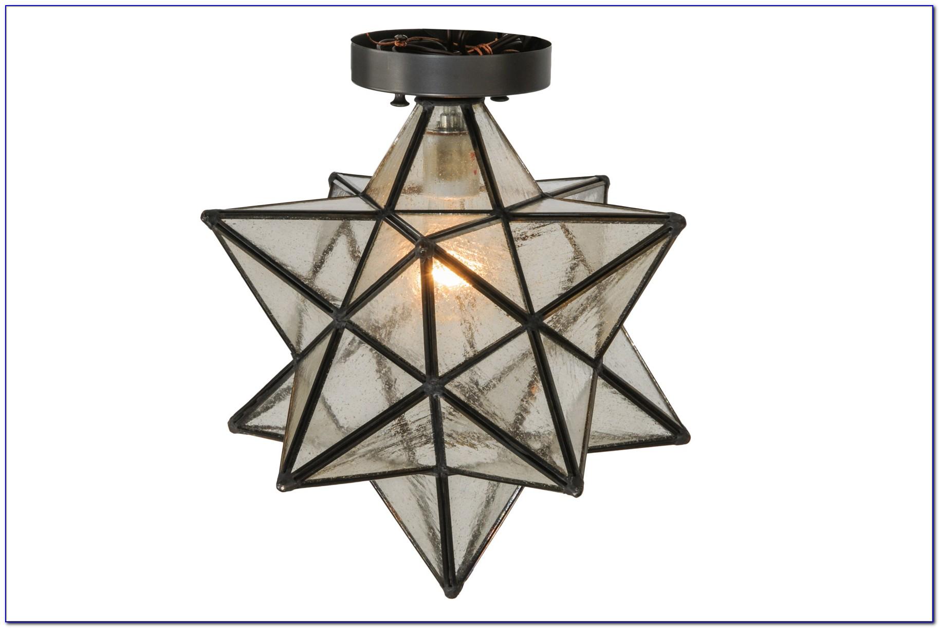 Moravian Star Ceiling Light Ebay