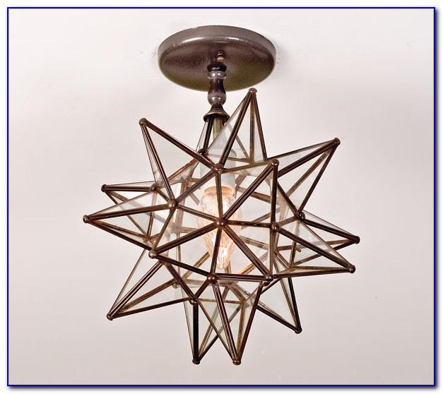 Moravian Star Ceiling Light Fixture