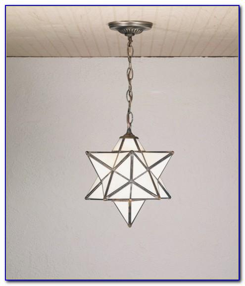 Moravian Star Ceiling Light Flush Mount