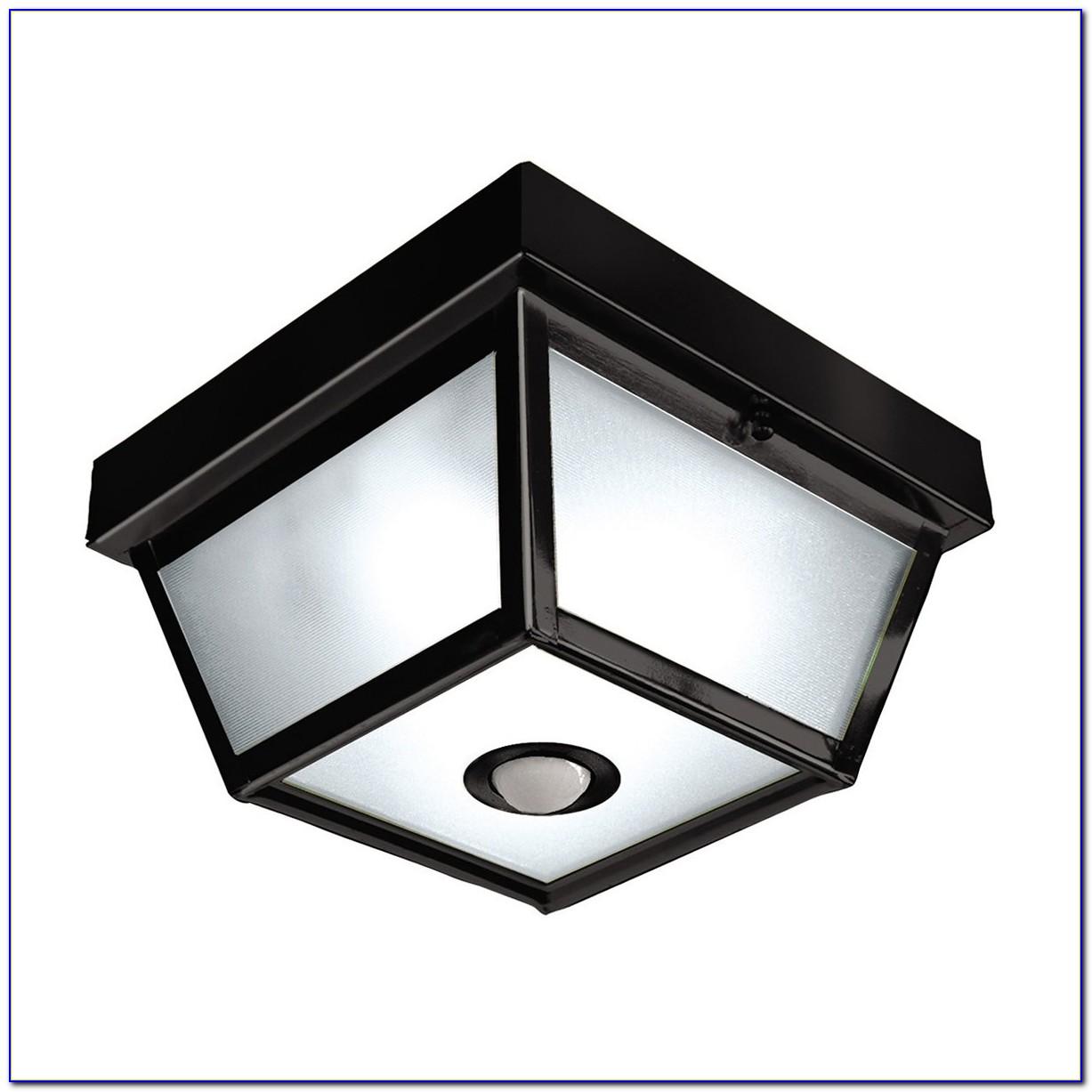 Motion Sensing Outdoor Ceiling Light