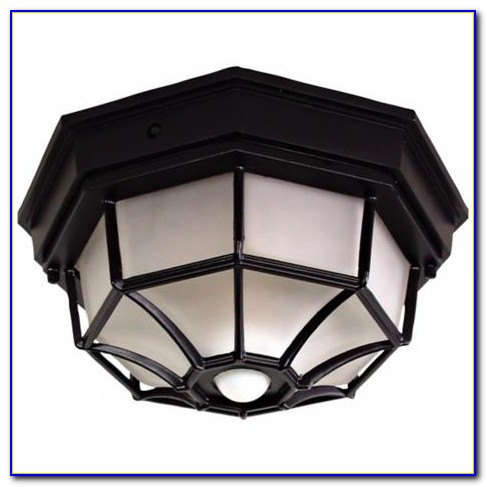 Motion Sensor Outdoor Ceiling Light Fixture