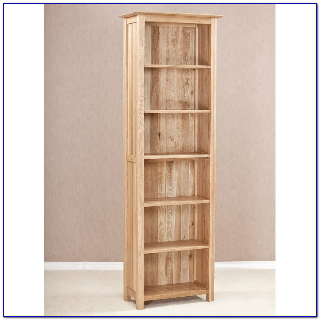 Narrow Oak Bookcase Uk