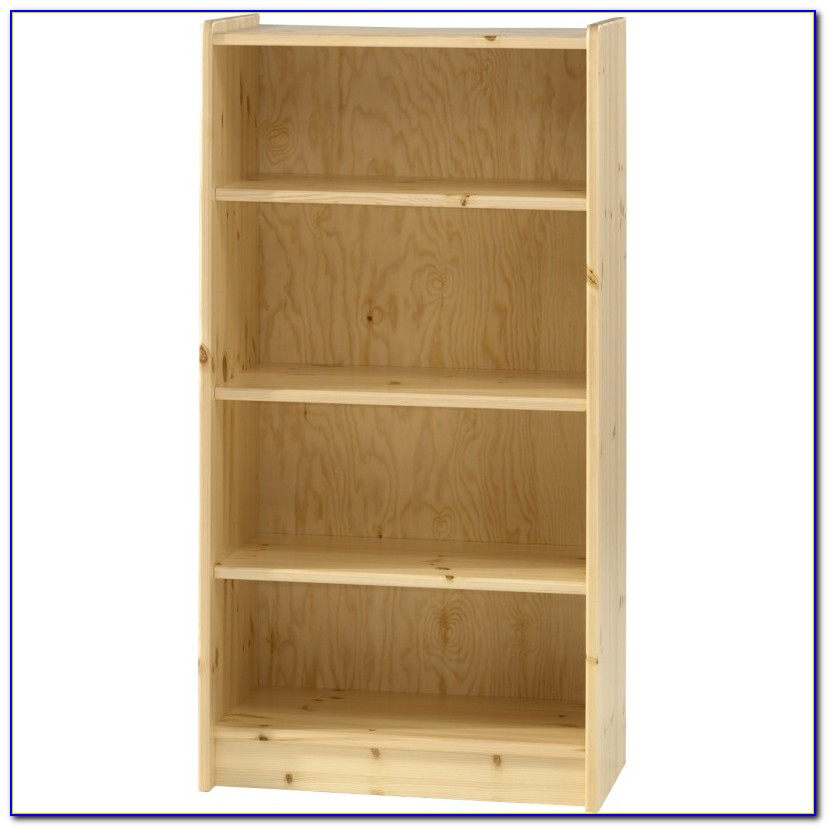 Natural Pine Bookcase