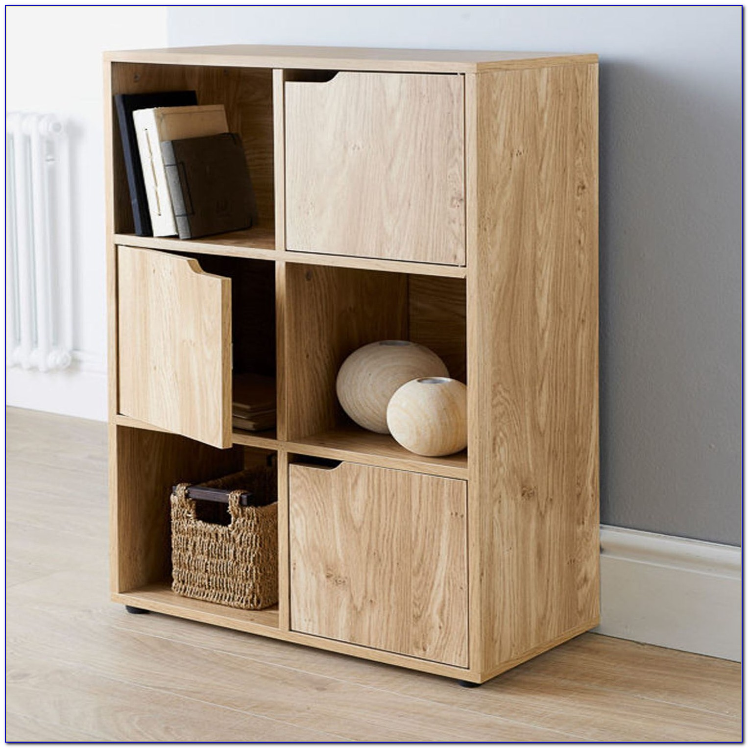 Oak Cube Shelves Uk