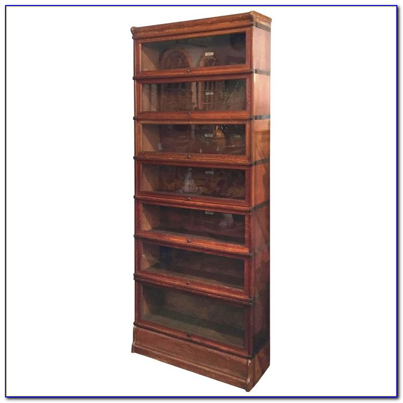 Oak Lawyer Bookcase