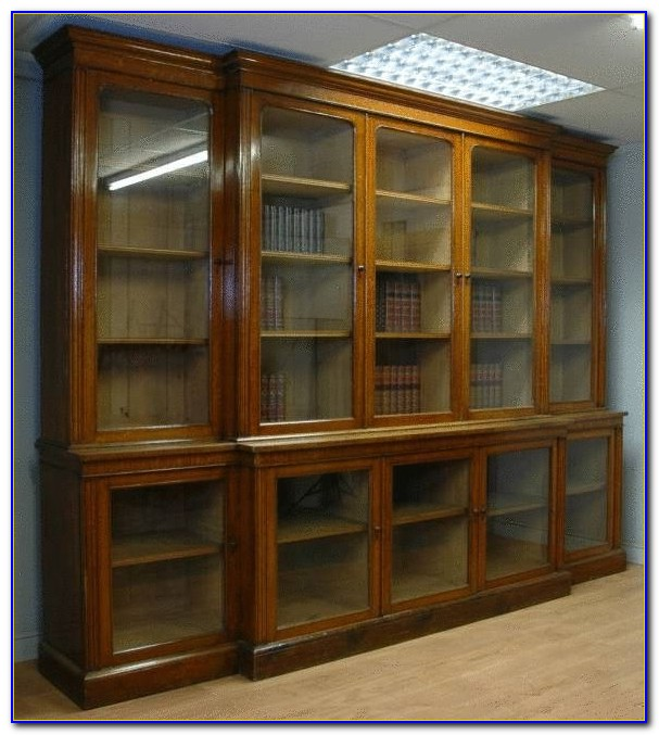 Oak Library Bookcase