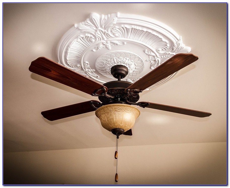 Old Style Ceiling Fan With Light