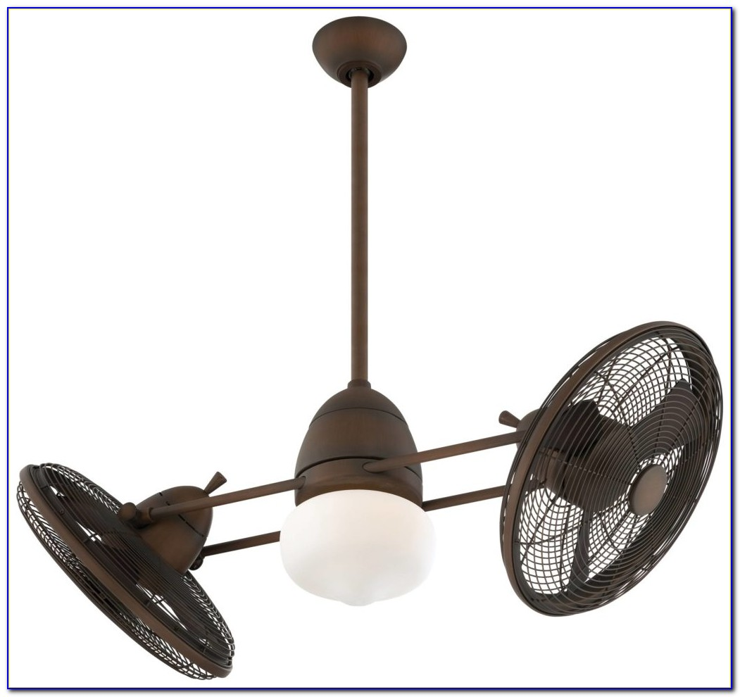 Oscillating Outdoor Ceiling Fan With Light