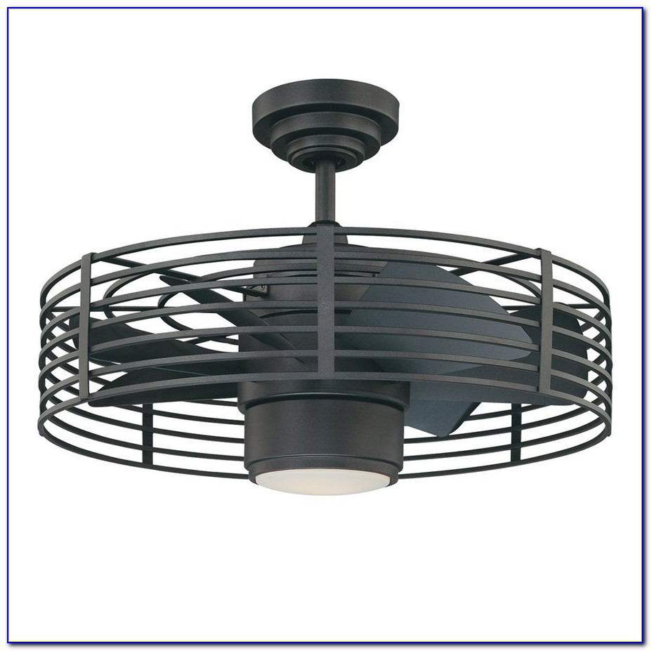 Outdoor Ceiling Fan With Cage