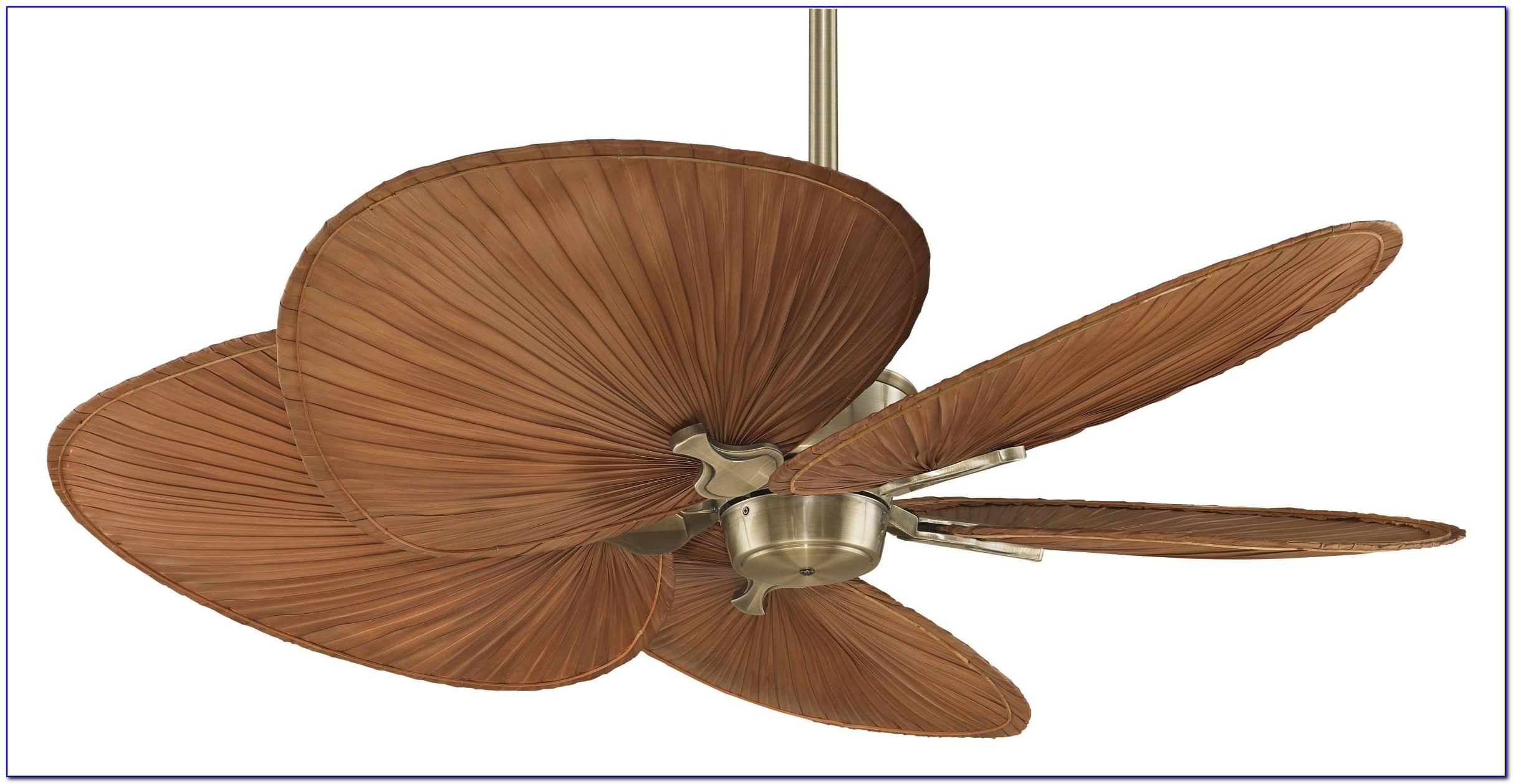 Palm Leaf Ceiling Fans With Lights