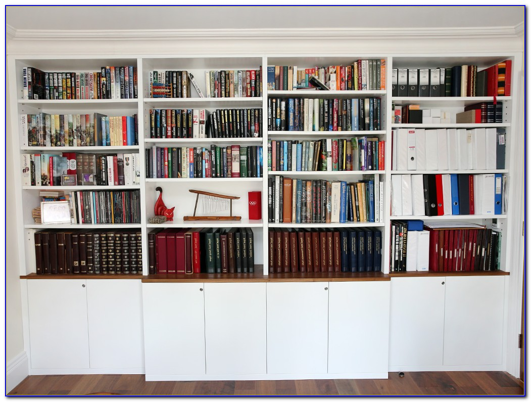 Pine Bookcases Made To Measure