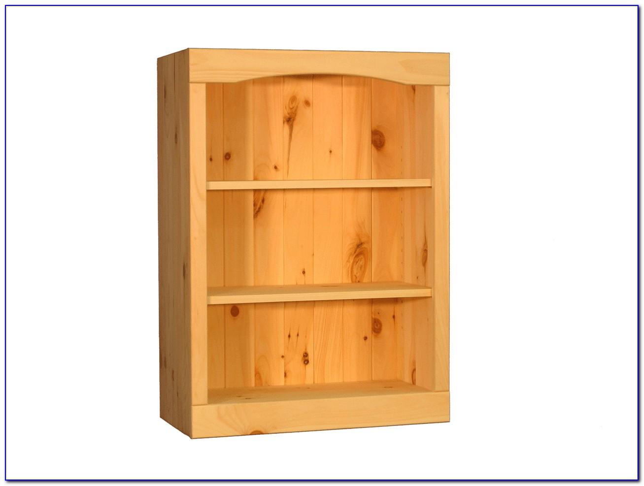 Pine Wood Bookshelf