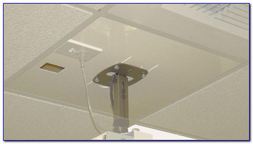 Projector Mount Drop Ceiling Grid