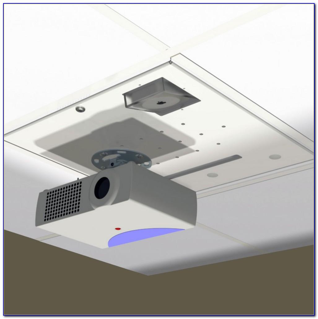 Projector Screen Drop Ceiling Mount