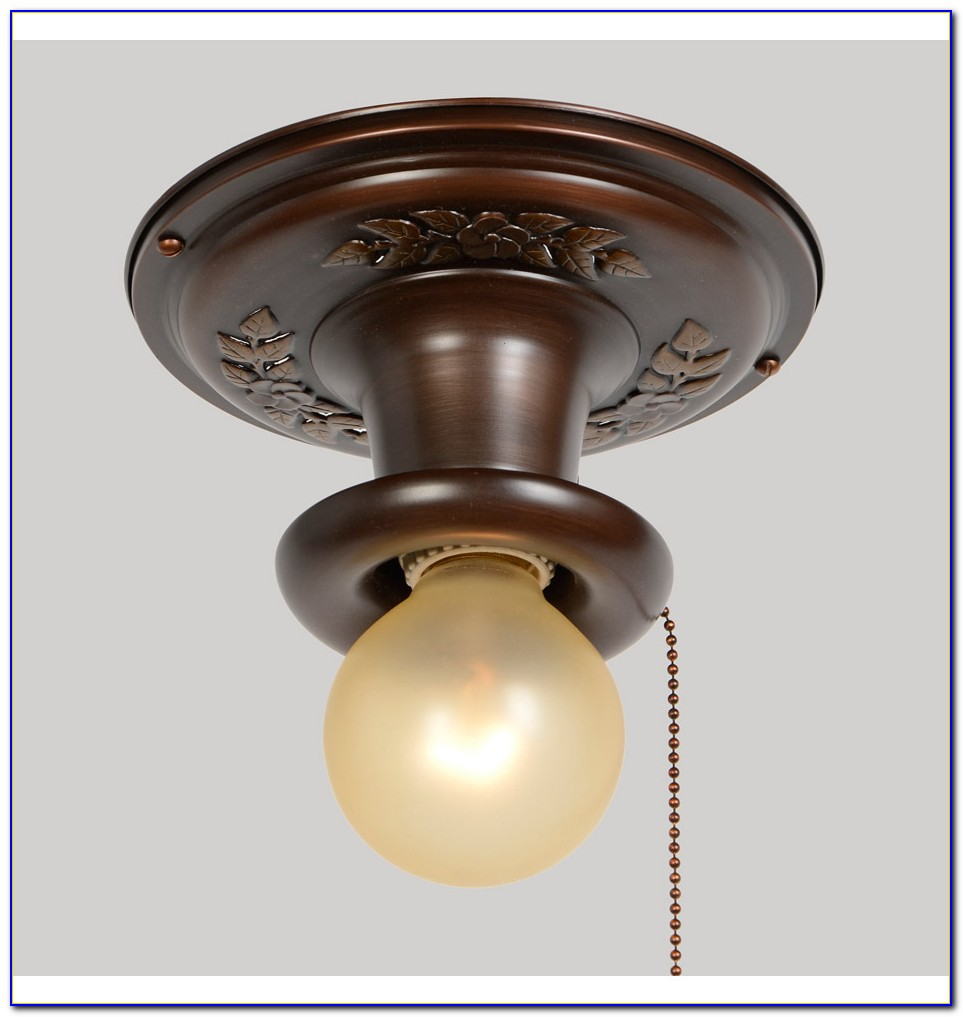 Pull Chain Ceiling Light Shade