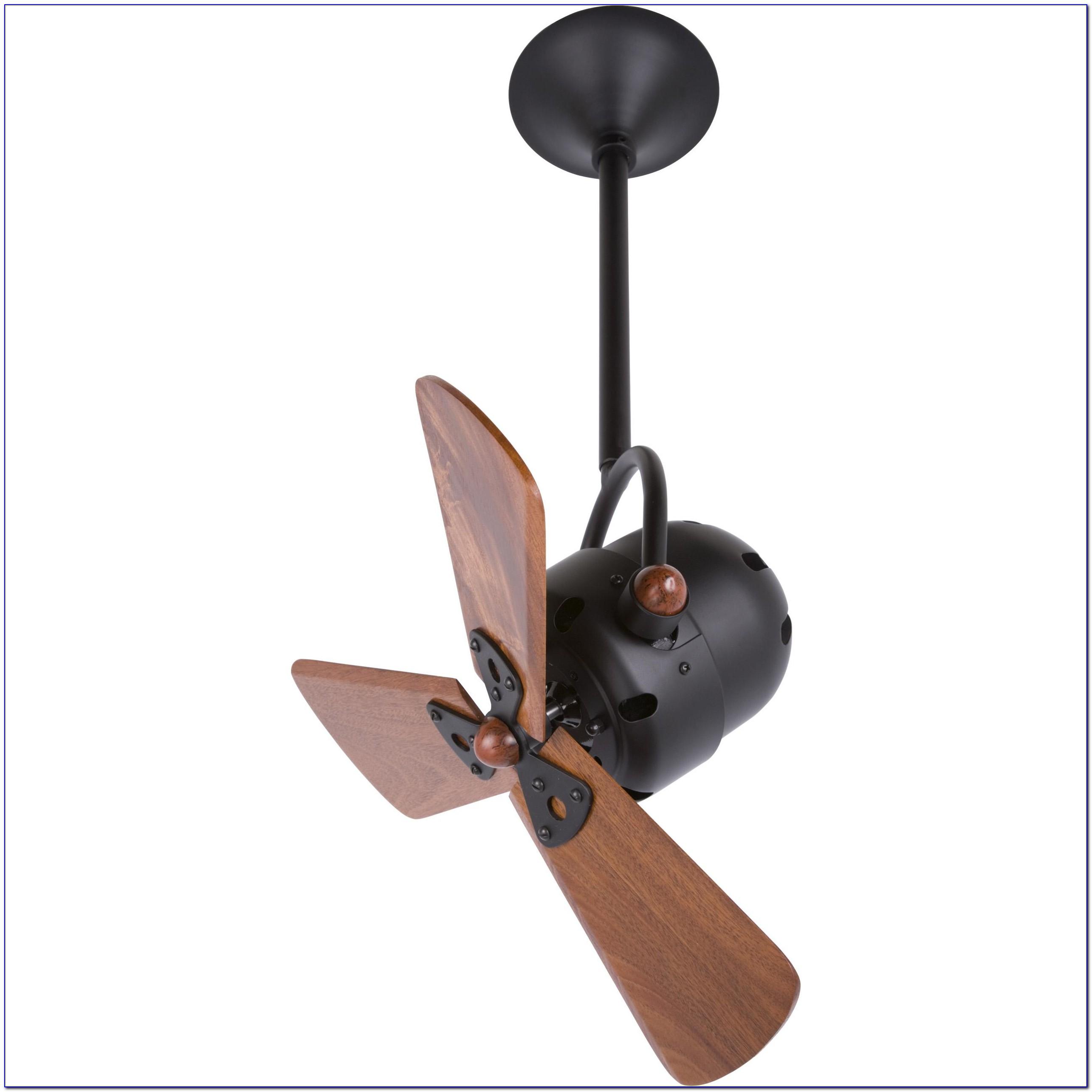 Real Wood Blade Ceiling Fan