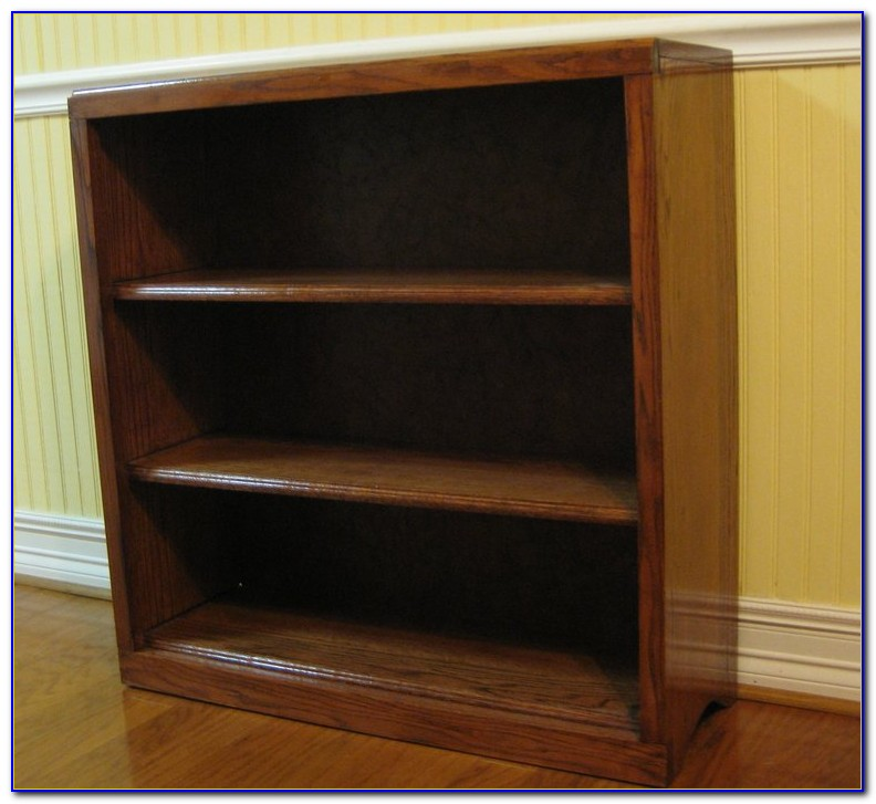 Red Oak Bookcase