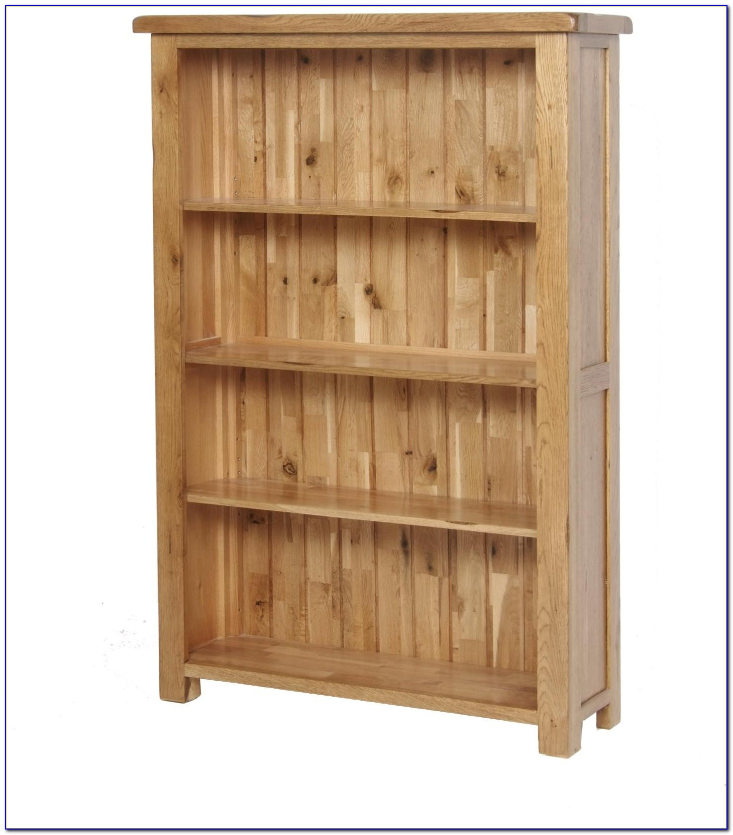 Rustic Oak Narrow Bookcase