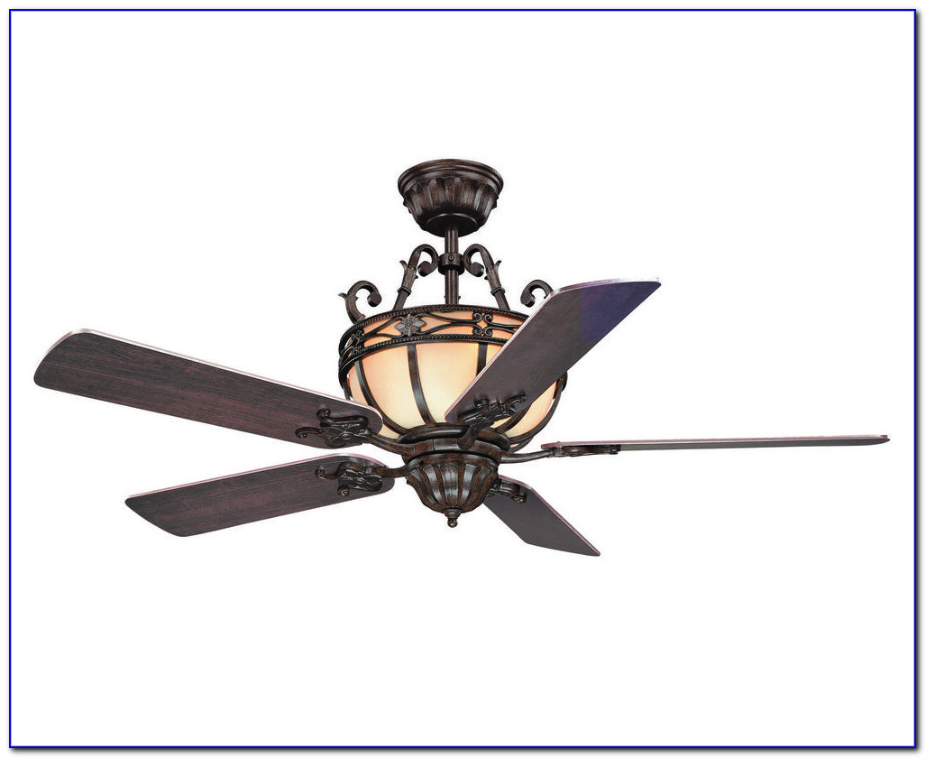 Rustic Wrought Iron Ceiling Fans