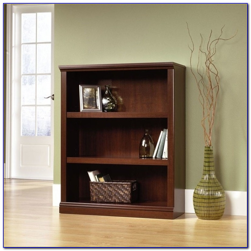 Sauder Bookcase Cinnamon Cherry Finish