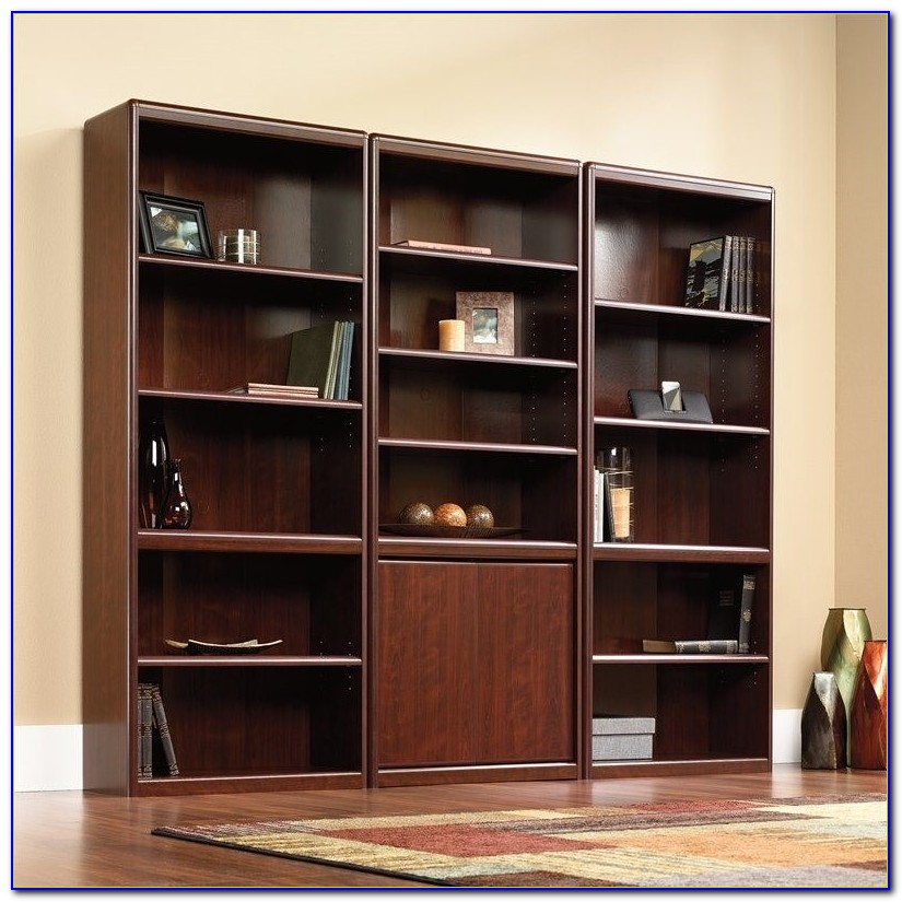 Sauder Bookcase Cinnamon Cherry