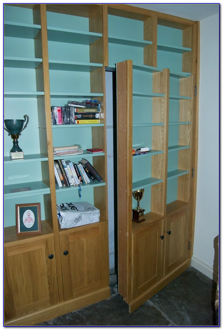 Secret Passage Bookcase Door