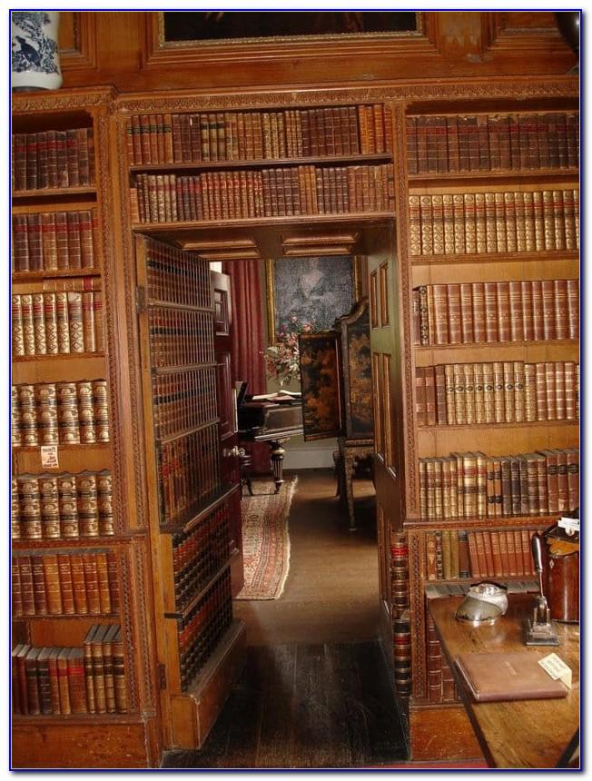 Secret Passage Bookshelves