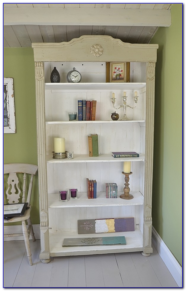Shabby Chic Bookcase Ebay