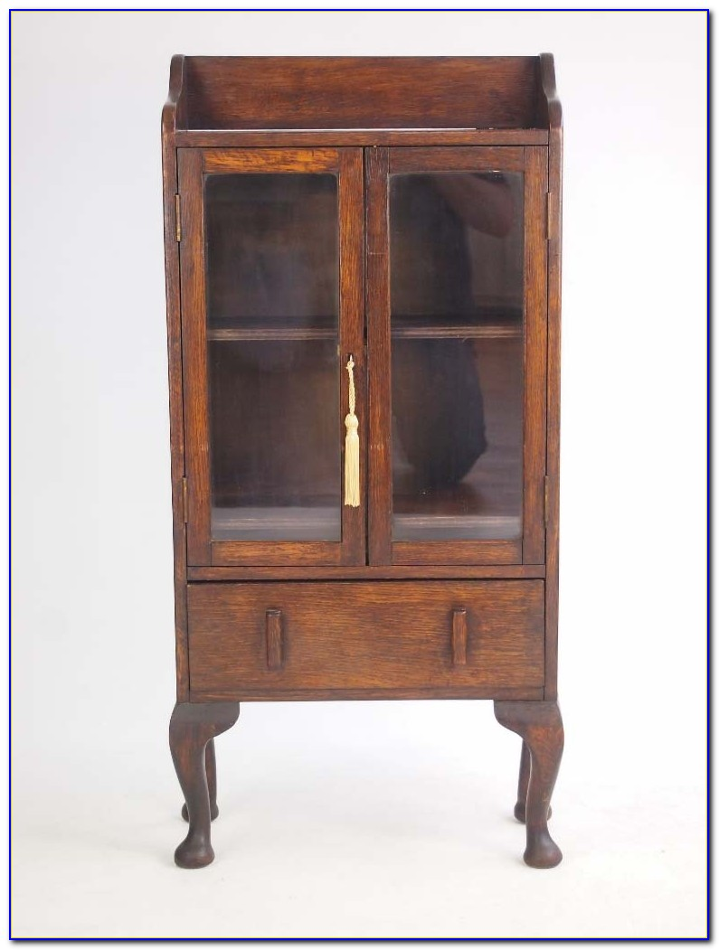 Small Antique Oak Bookcases