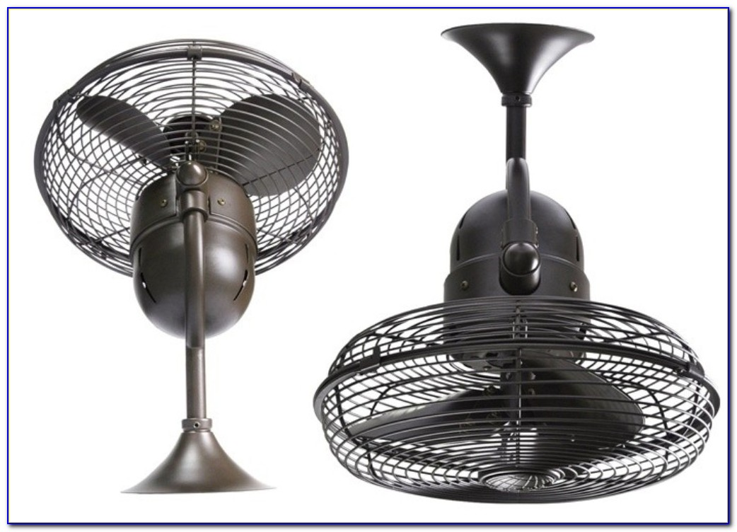 Small Ceiling Mount Oscillating Fan