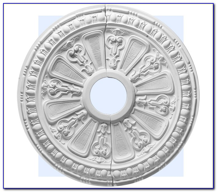 Small Two Piece Ceiling Medallions