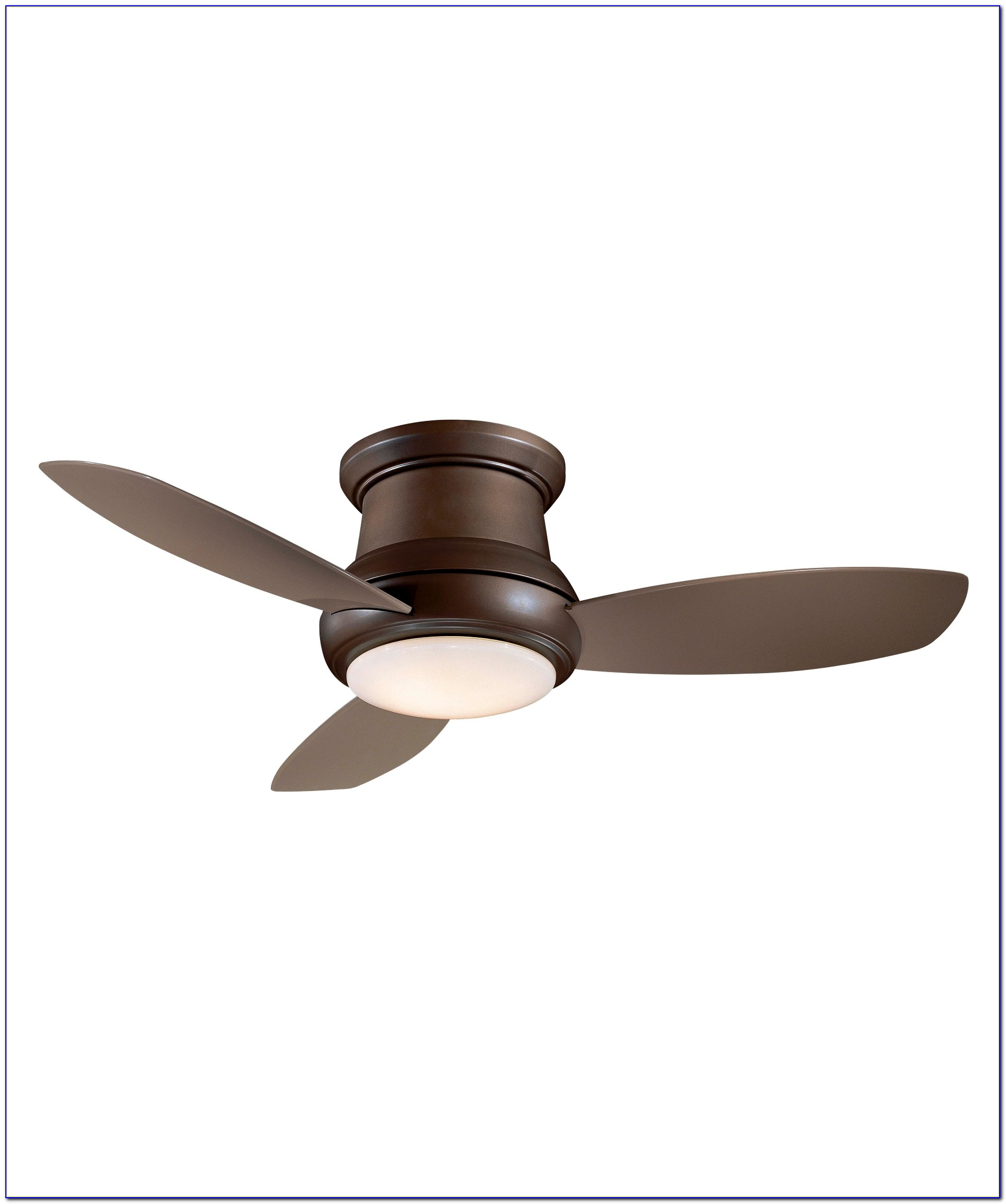 Small White Flush Mount Ceiling Fan