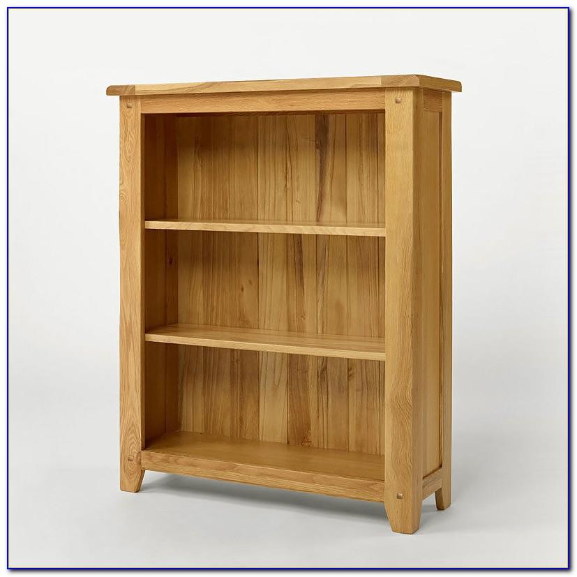 Solid Light Oak Bookcases